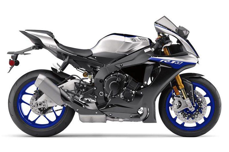 2019er Yamaha YZF R1M rechts