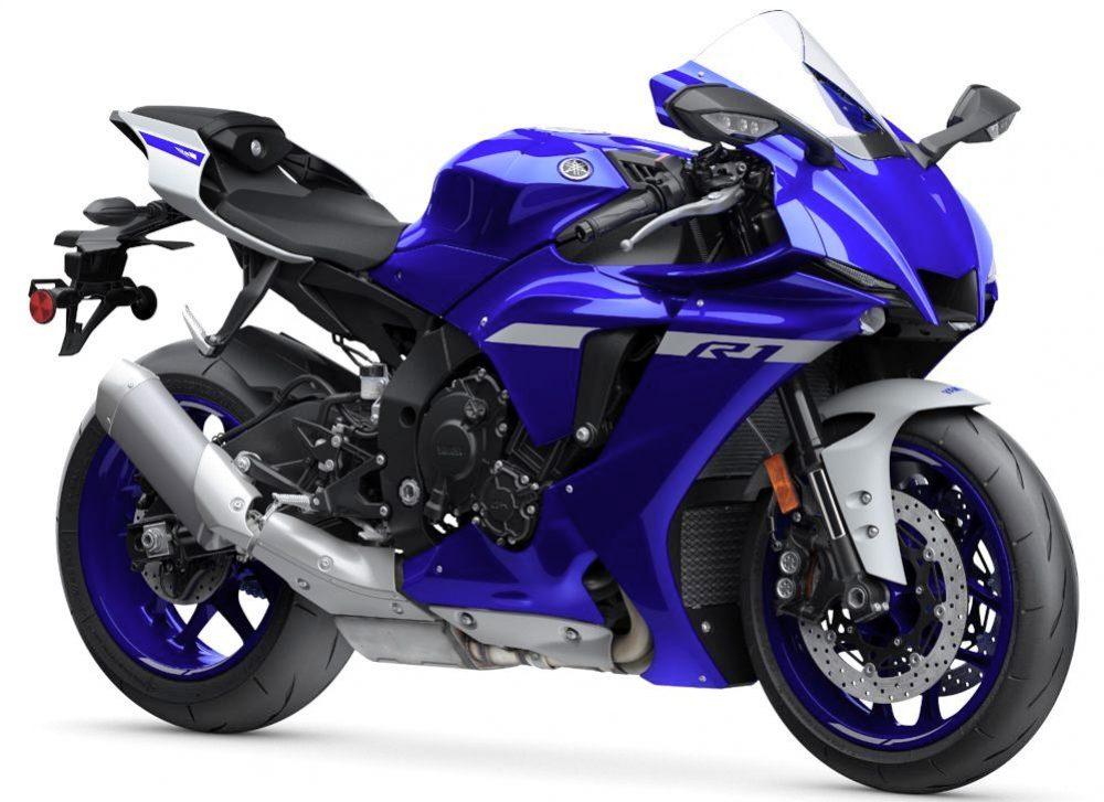2020er Yamaha YZF R1 rechts vorn1000
