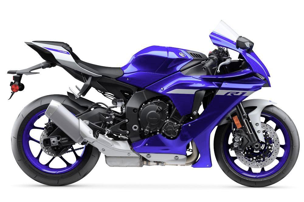 2020er Yamaha YZF R1 rechts1000