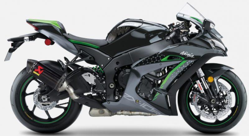 2021er Kawasaki ZX10R SE Performance rechts