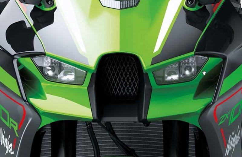 2021er Kawasaki ZX10R vorn zoom