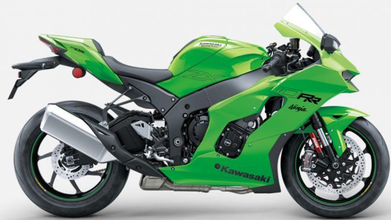 2021er Kawasaki ZX10RR rechts