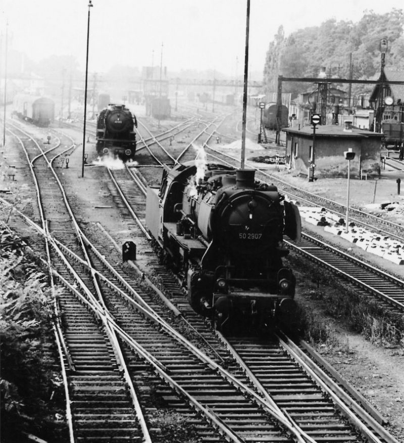 26b E452 in Marburg Lokwechsel JAB