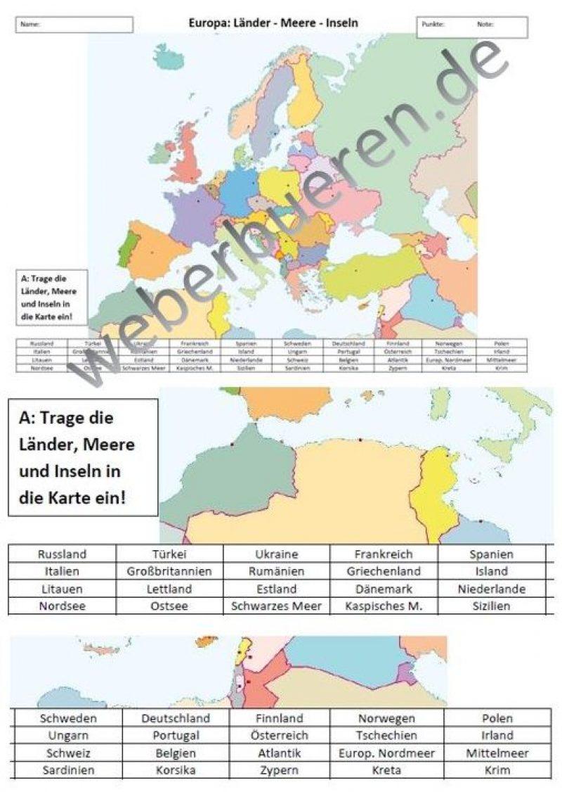 AK Europa Übersicht