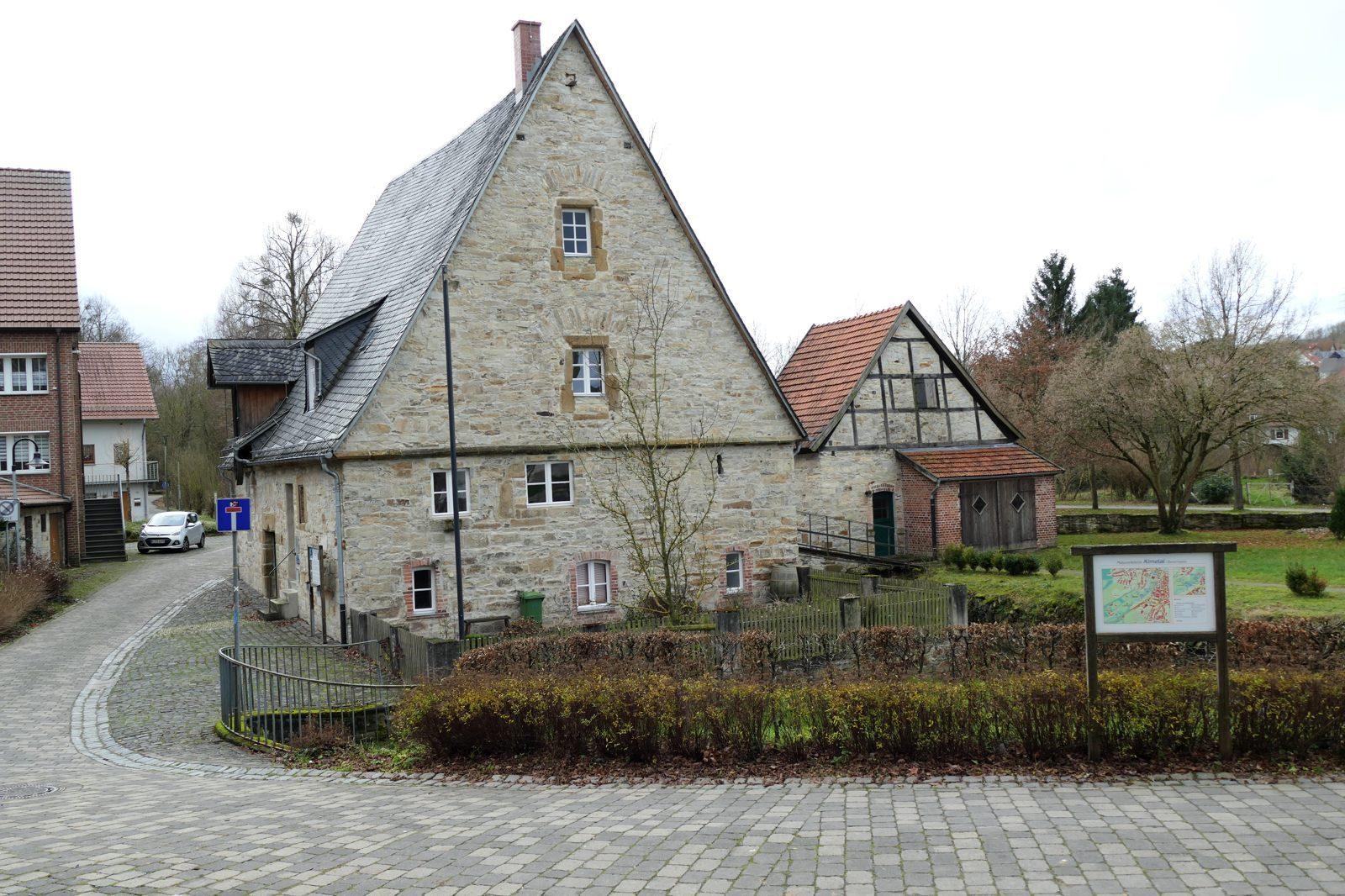 Ein ehemalige Mühle im Westen