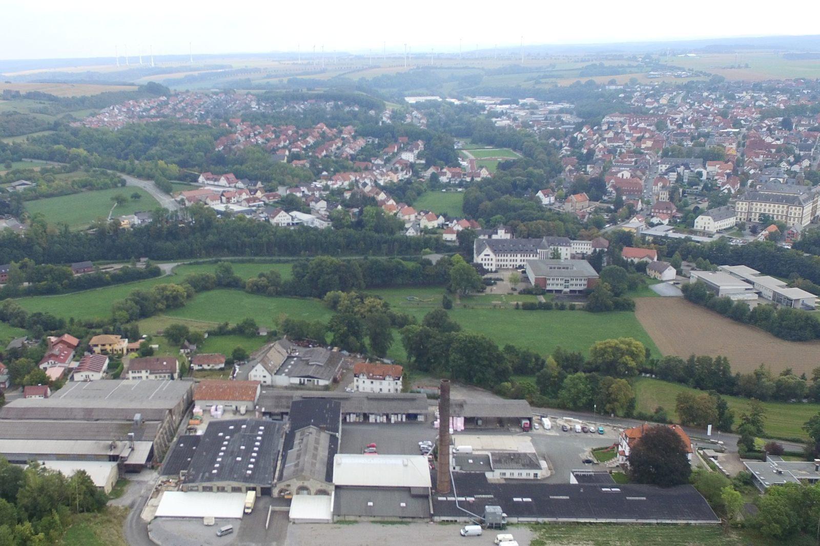 Blick vom Kapellenberg auf Büren