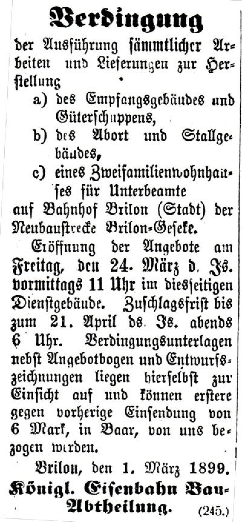 E05 Bahnhof, Ausschreibung,1899_400