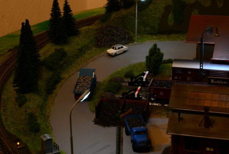 Im Industriegebiet nachts
