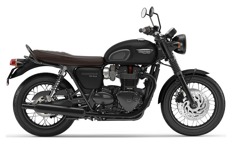 Retro Triumph Bonneville T120 Black