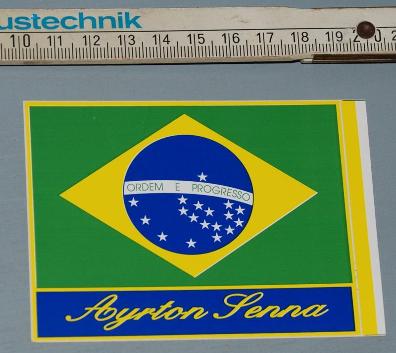 Senna_Aufkleber