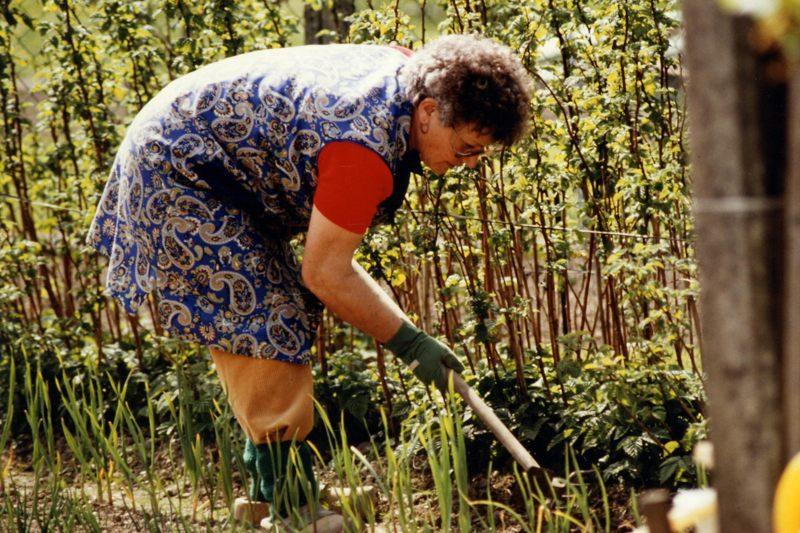 WH 1989 Mama im Garten 800